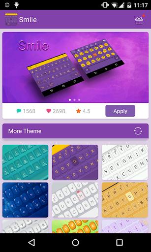 Emoji Keyboard-Smile