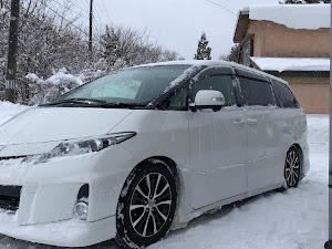 エスティマ ACR55W アエラス 平成24年式 3型後期 4WD 寒冷地仕様のカスタム事例画像 ぐで吉さんの2018年12月19日20:49の投稿