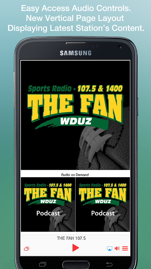 THE FAN 107.5- screenshot