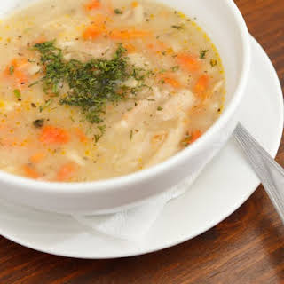 Classic Slow Cooker Chicken Soup.