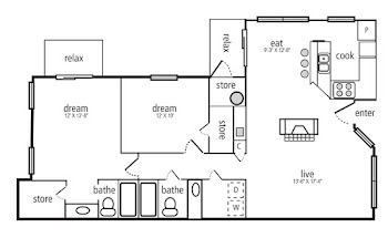Go to Evergreen Floorplan page.
