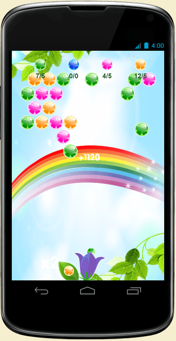 Flower Power Saga- screenshot