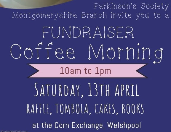 Coffee morning for local Parkinson's group