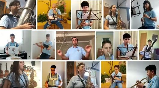 La Banda Municipal de Música de Fiñana homenajea a las víctimas del Covid-19