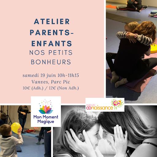Atelier Parents-Enfants Mon Moment Magique