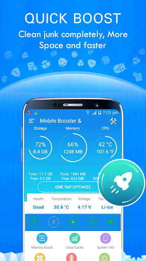 Mobile Booster Pro v1.0.1 [Paid]