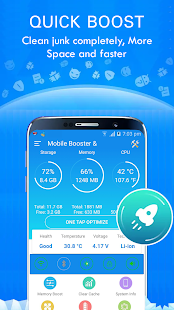 Mobile Booster Pro Screenshot