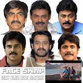Shoot Telugu Heros Reactions - Face Swap