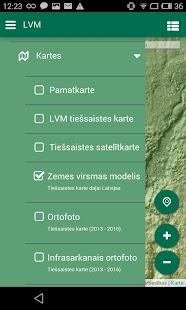 LVM GEO Mobile - náhled