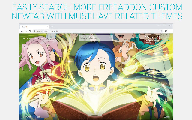 Ascendance of a Bookworm Wallpaper HD Isekai Bookworm Anime New Tab