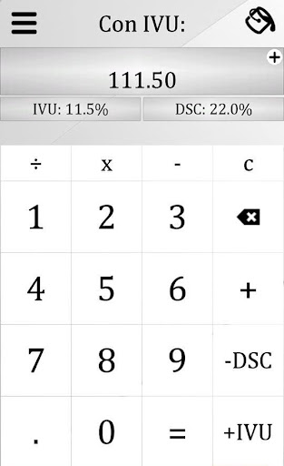 IVU Calculadora