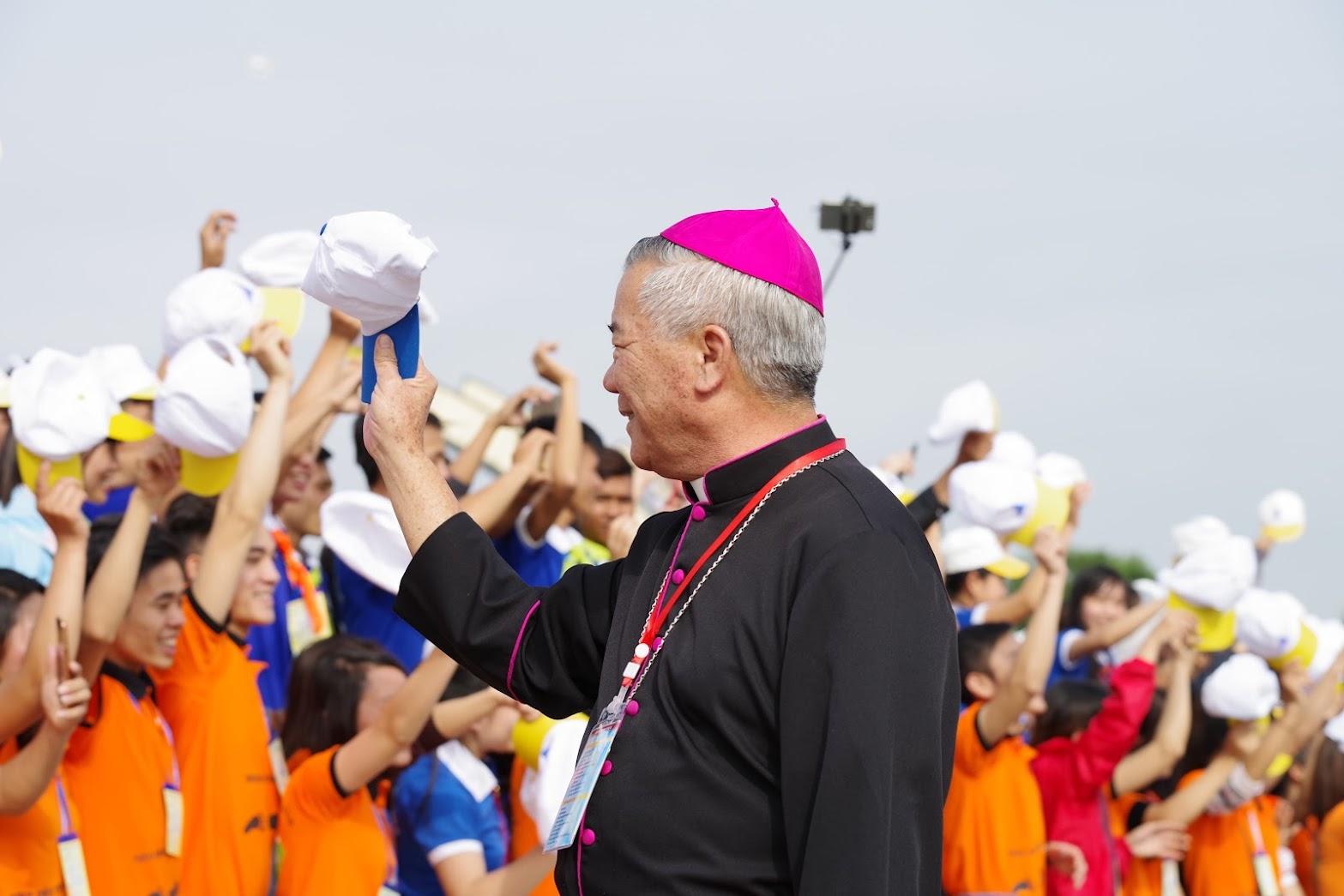 Những hình ảnh đẹp về lễ khai mạc Đại Hội Giới Trẻ giáo tỉnh Hà Nội lần thứ XV tại Thanh Hóa - Ảnh minh hoạ 14