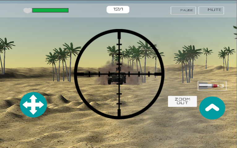 android Desert War Screenshot 4