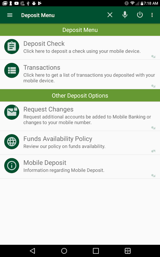 RCB Bank Mobile Banking- screenshot