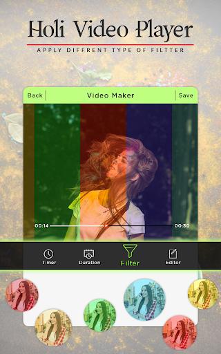 Holi Video Maker 2018 - Holi Slideshow Maker 1.1.0 screenshots 2