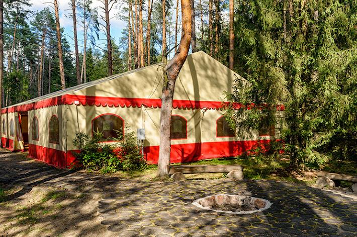 Фото №2 зала Шатер «На лесном озере»