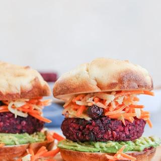 Beet and Black Bean Burgers Recipe
