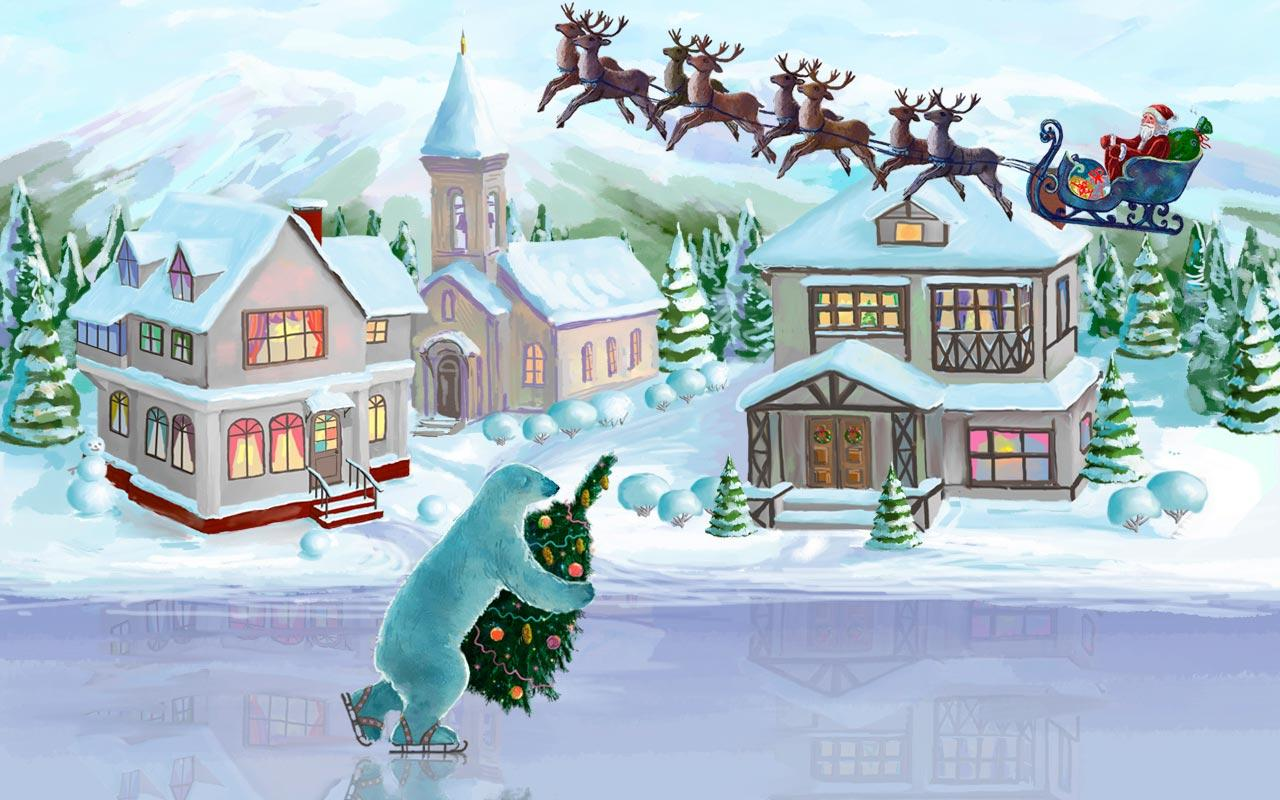 Live Wallpaper Weihnachten.Christmas Rink Live Wallpaper Android Reviews At Android
