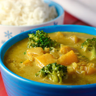 Coconut Curry with Red Kuri Squash