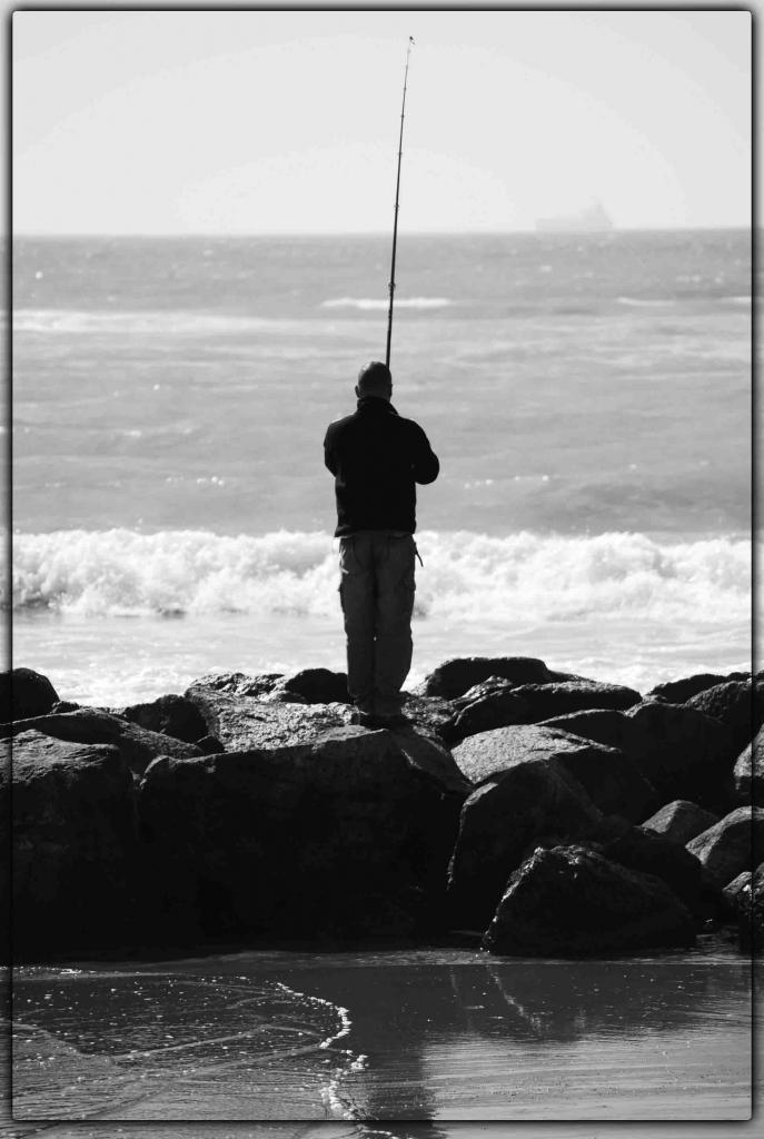 L'uomo e ...il mare... di Sasina