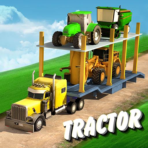 트랙터 농부 수송 模擬 LOGO-玩APPs