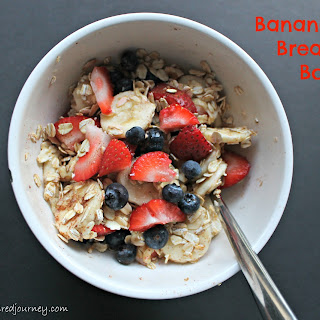 Banana Berry Breakfast Bowl Recipe