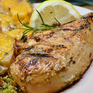 Grilled Rosemary Chicken Breasts