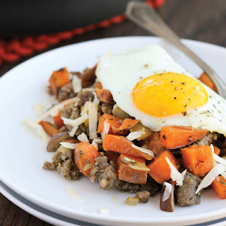 Sweet Potato & Maple Sausage Skillet Recipe