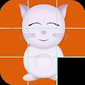 Kids slide puzzle icon