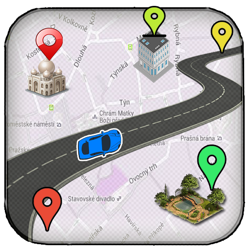 GPS Route Finder-Nearby