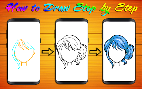 How To Draw Hair Styles Apps Bei Google Play