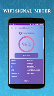 SuperWifi Wifi signal booster Speed Test & Manager Screenshot