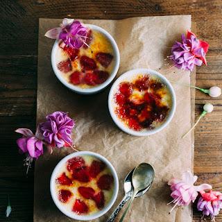 Strawberry CrèMe BrûLéE Recipe