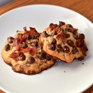 Maple Bacon Browned Butter Chocolate Chip Cookies