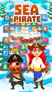 Sea Pirate: Match-3- screenshot thumbnail
