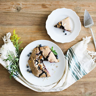 Blueberry-Almond Galette.