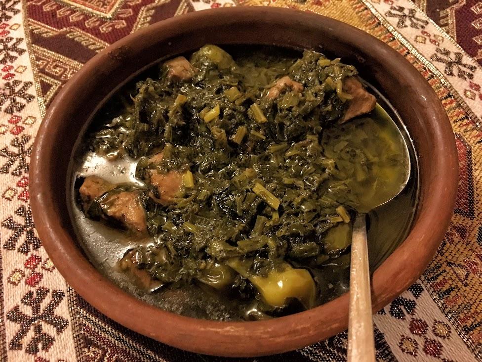 Azerbejdżan, kuchnia, Sebzi Qovurma, Kovurma