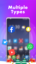Hello Launcher - Love Emoji & 3D Wallpapers, GIFs APK screenshot thumbnail 6