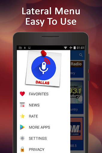 Dallas Radio Stations 1.2 screenshots 2