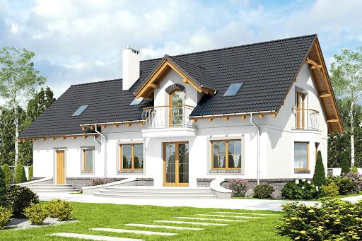 projekt Dom Dla Ciebie 1 z garażem 2-st. A1