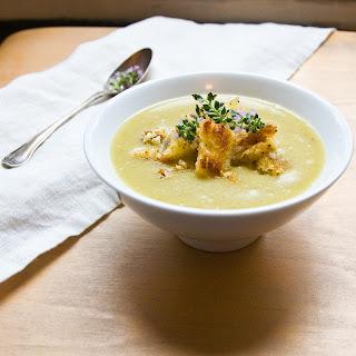 Velvety Potato & Leek Soup