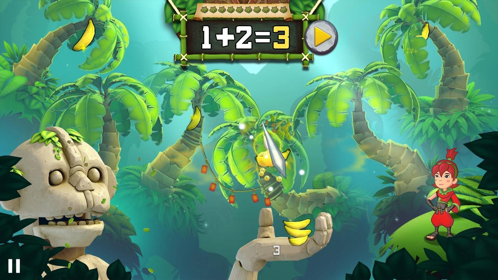 Ninja fruit 2 - Fruit Ninja Math Master Screenshot