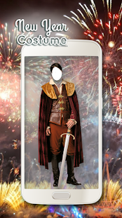 New Year Costume Photo Montage - náhled