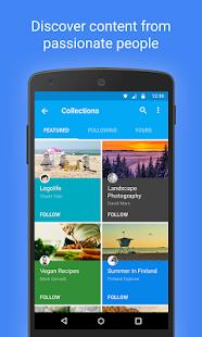 Google+: miniatura de captura de pantalla