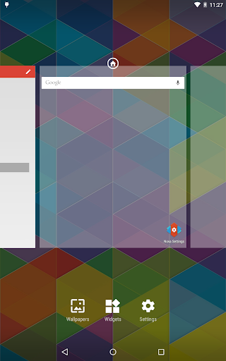 Nova Launcher Prime app for Android screenshot