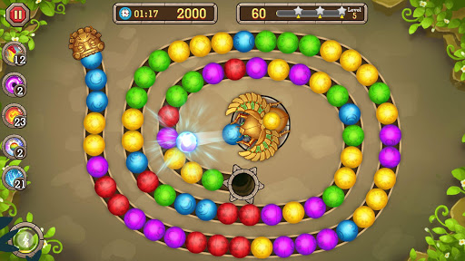 Jungle Marble Blast 1.0.7 screenshots 1