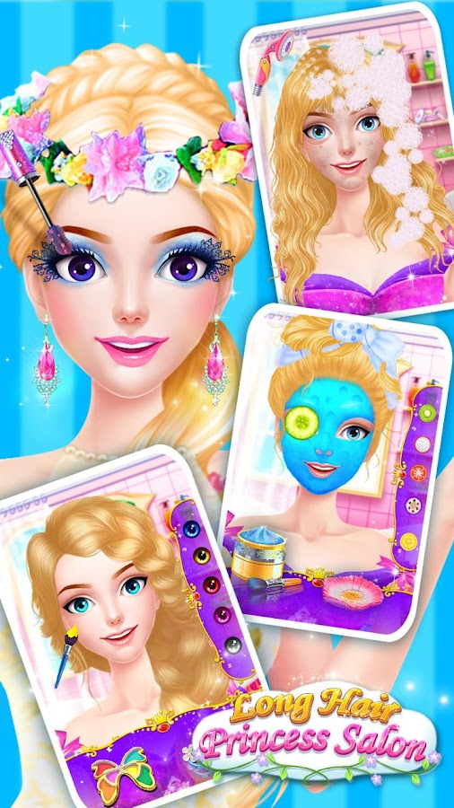 hair salon princess makeup android apps on play