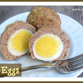 Breakfast Scotch Eggs.