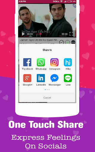All Video Status - Video Song Status & Text Status 2.2 screenshots 4