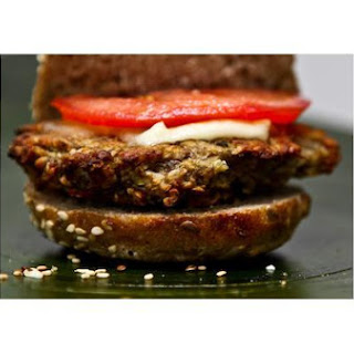 Baked Lentil Cheese Burgers